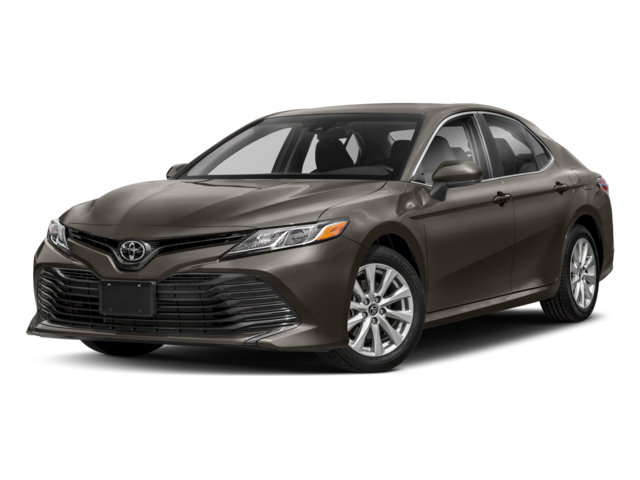 Gray Toyota Camry LE