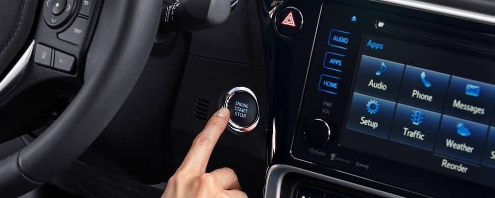 Toyota Corolla Touchscreen