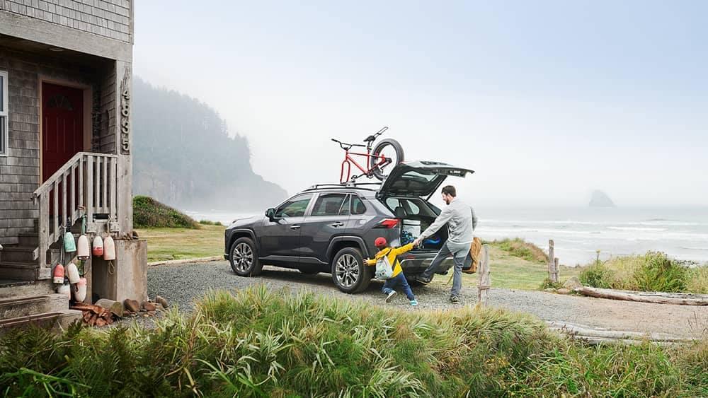2019 Toyota RAV4 Packed Up