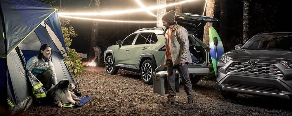 2019 RAV4 Models Camping Off Road