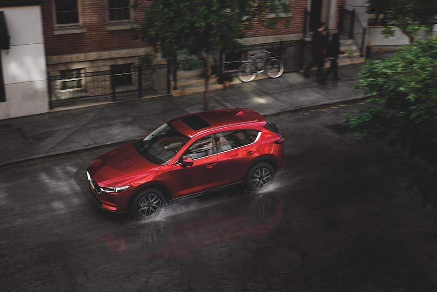 Mazda CX-5 vs Jeep Cherokee