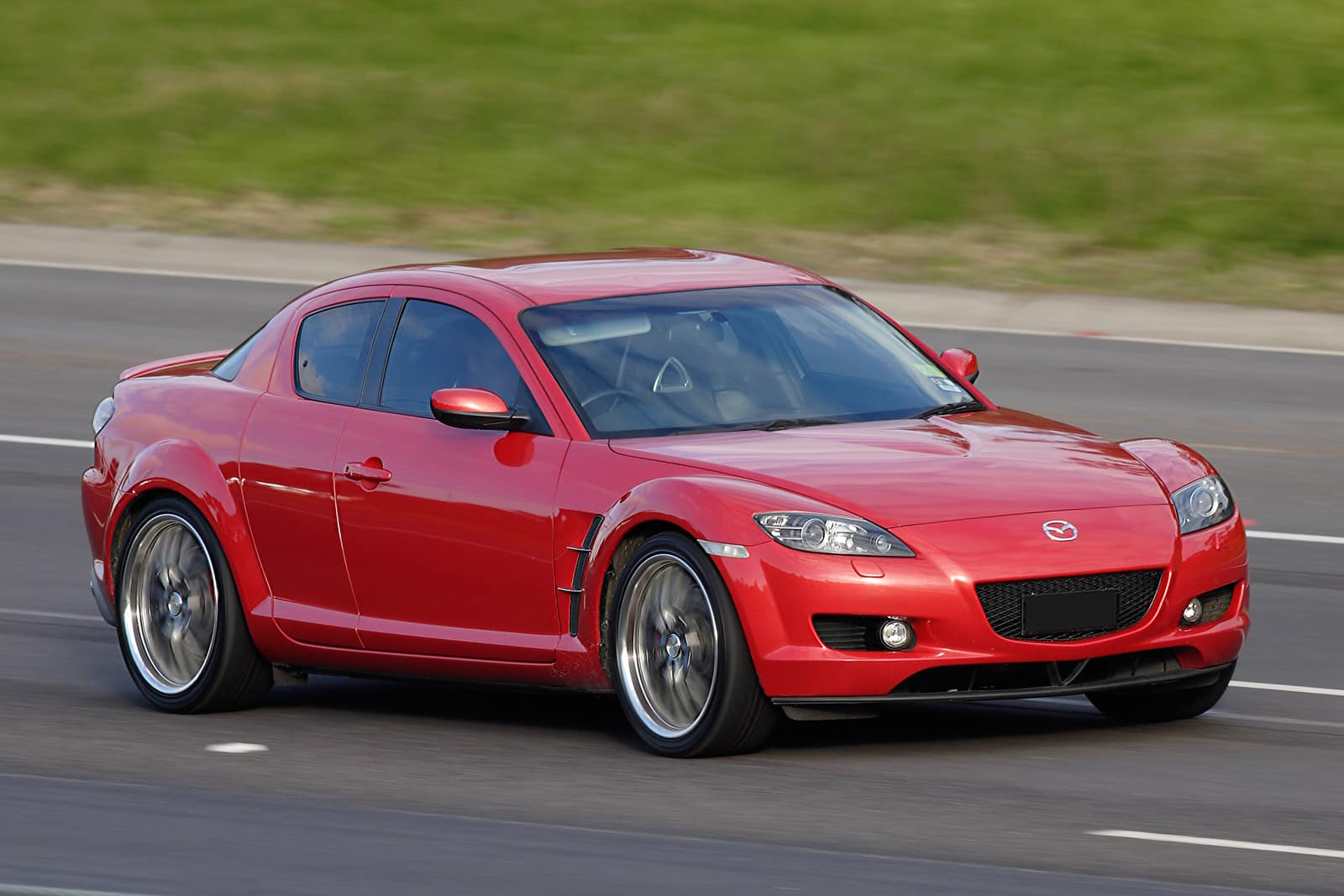 Madza RX8 red