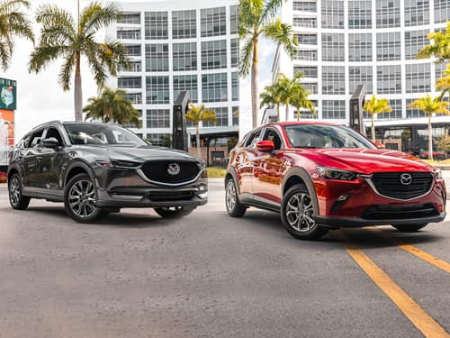 New 2019 MAZDA CX-3 AND MAZDA CX-5