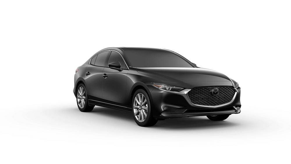 Black Mazda 3