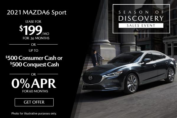 <center>New 2021 Mazda6 Sport</center>