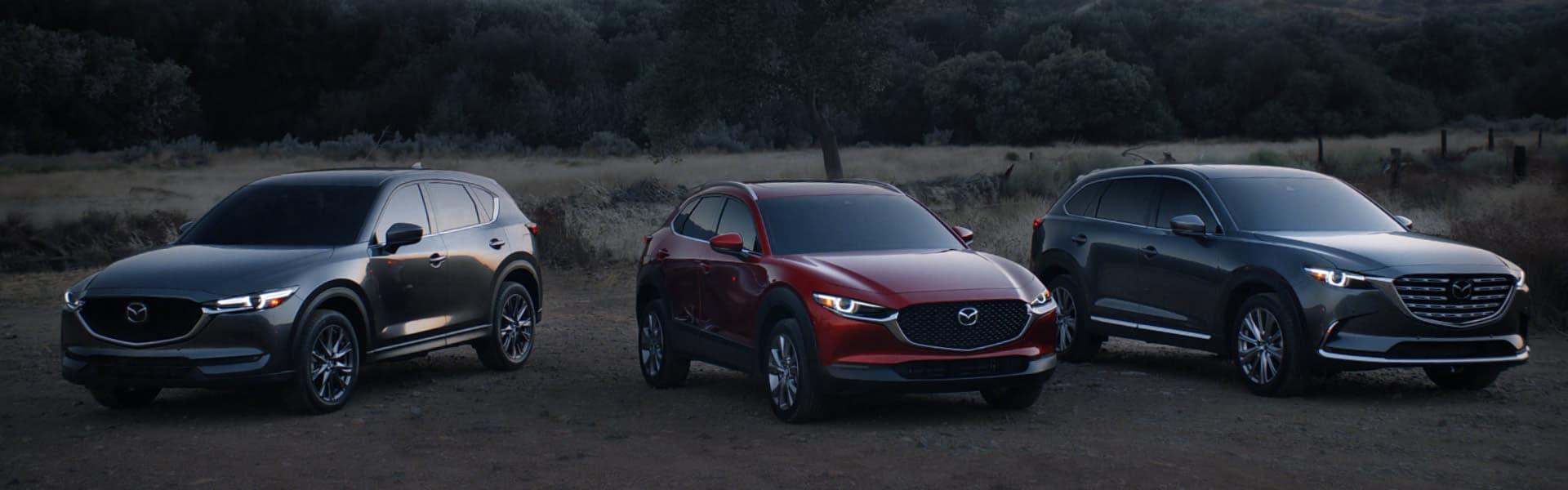 Mazda 2021 CUV Line-up