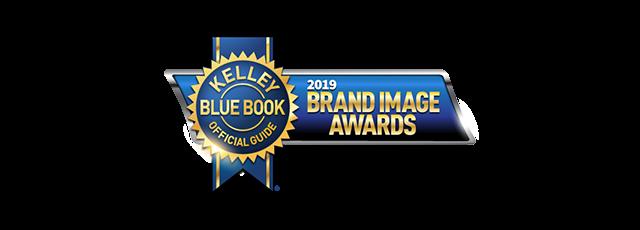 Kelly Blue Book 2019 Brand Image Award Logo