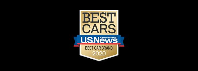 U.S. NEWS & WORLD REPORT 2020 Best Car Brand Logo