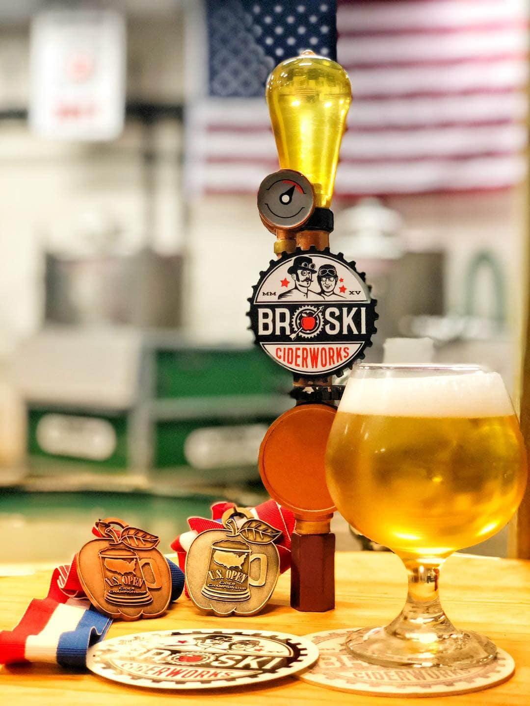 Broski Ciderworks near Pompano Beach, FL