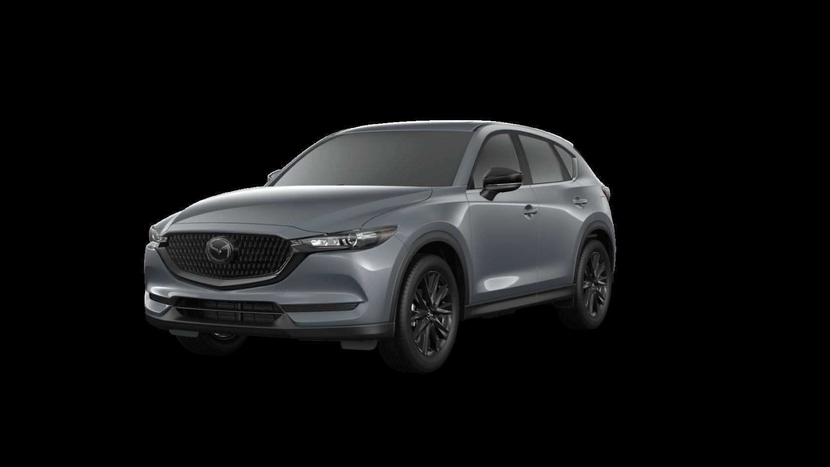 2021 Mazda CX-5 Carbon Edition Polymetal Gray Ocean Mazda