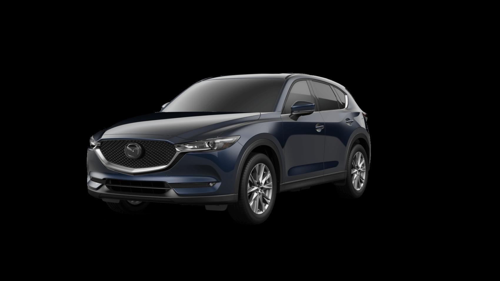 2021 Mazda CX-5 Grand Touring Reserve Deep Crystal Blue Ocean Mazda