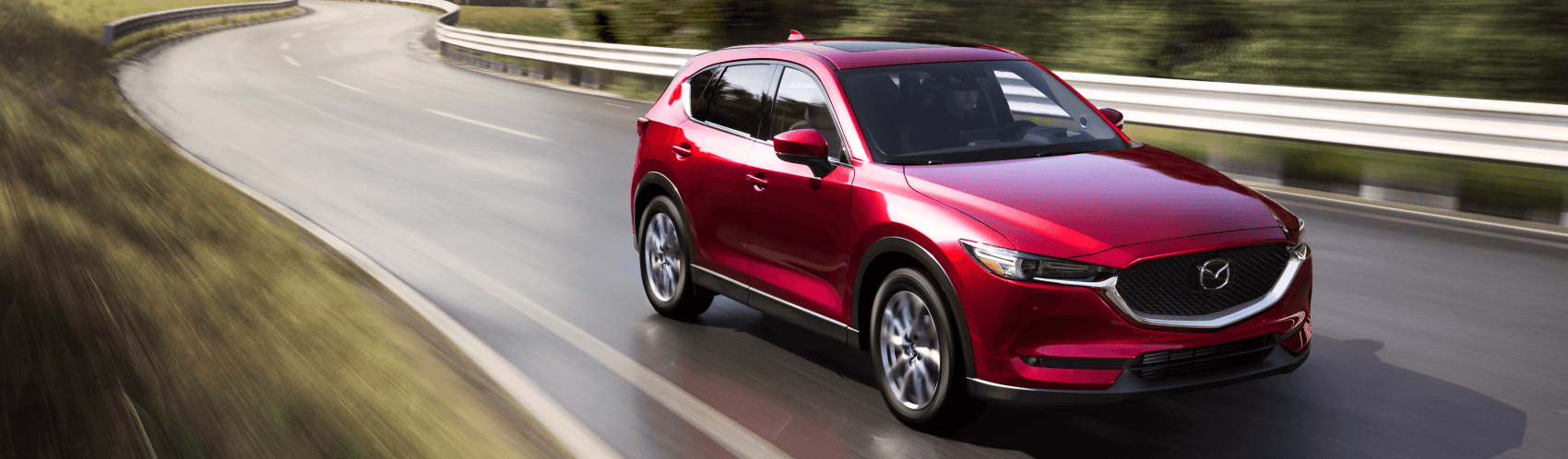 2021 Mazda CX-5 Red Highway Ocean Mazda
