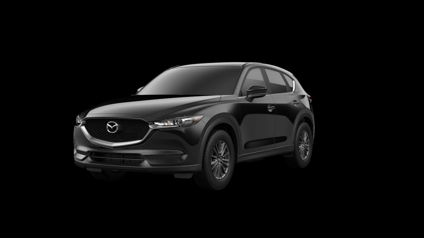 2021 Mazda CX-5 Sport Jet Black Ocean Mazda