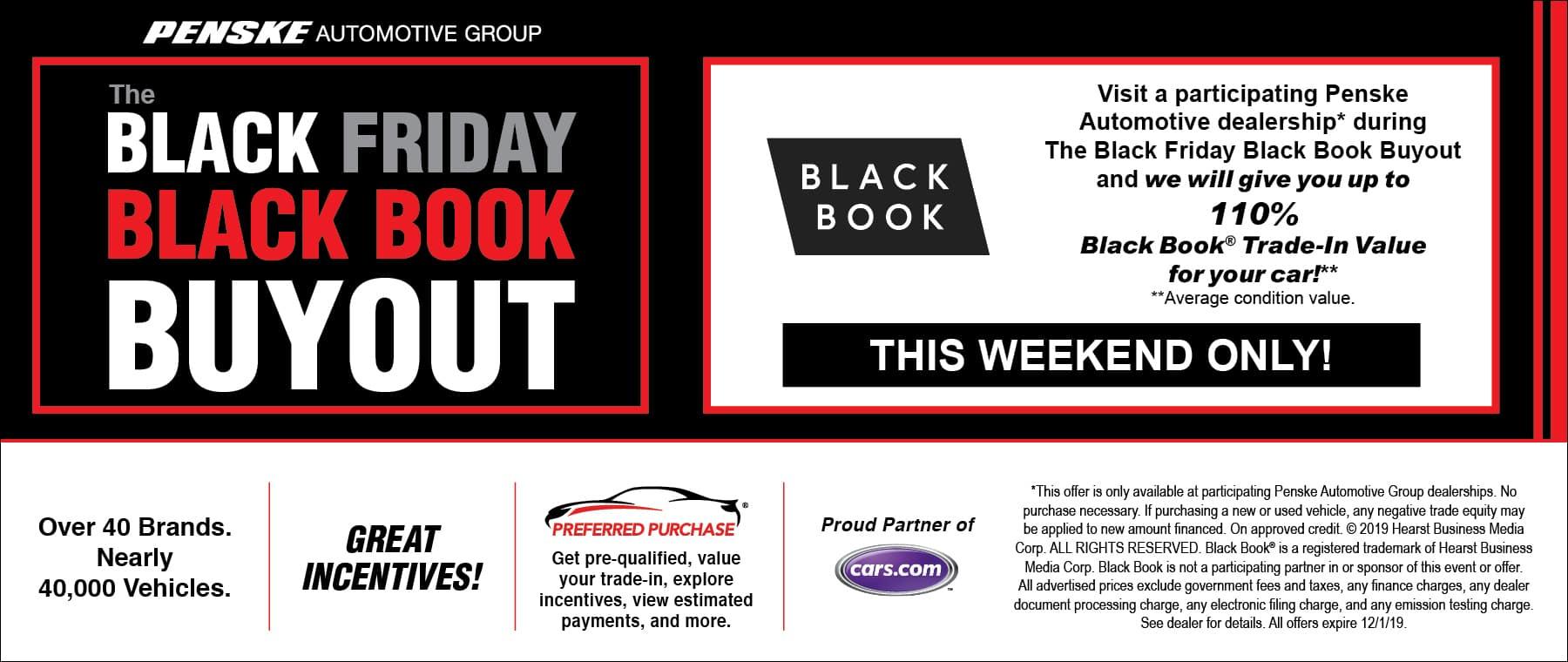 Black Friday Sale Penske automotive