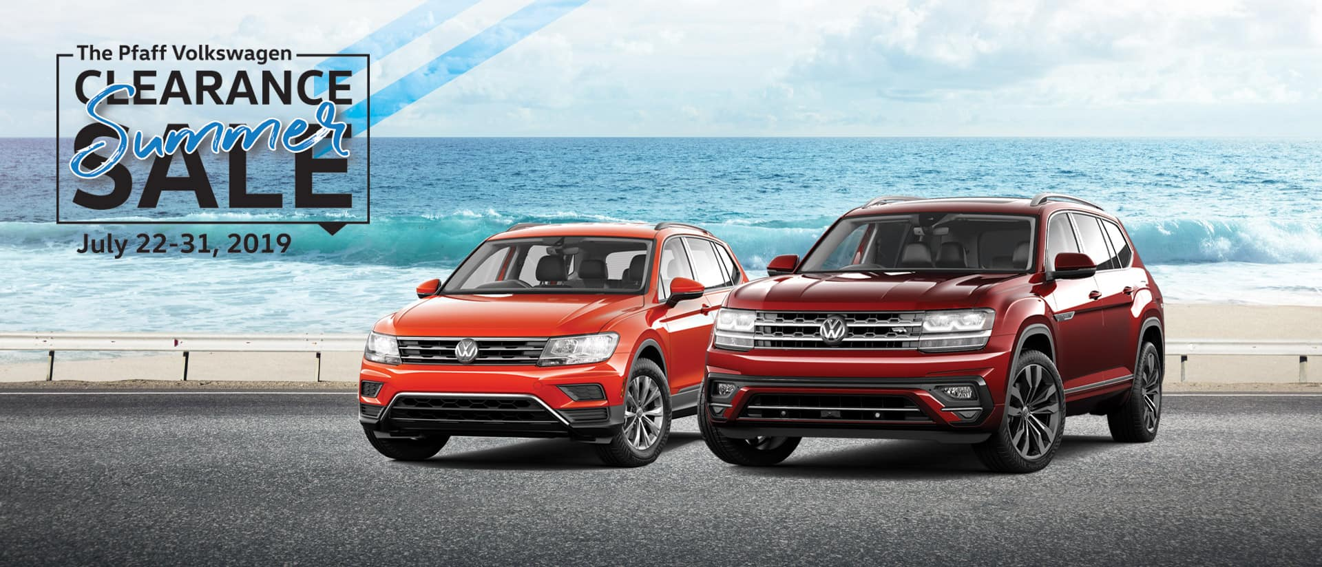Pfaff Volkswagen Tiguan Atlas Jetta Clearance Sale Offer