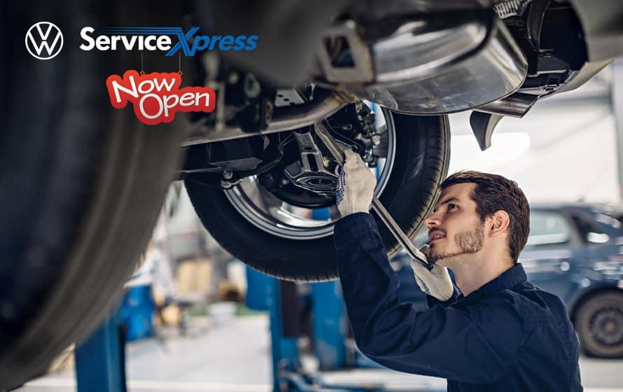 Pfaff Volkswagen VW Service XPress