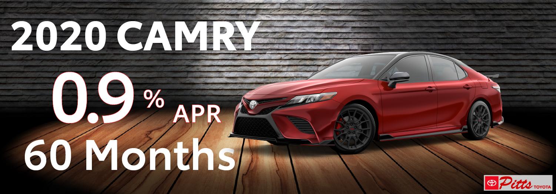 2020 Camry APR offer - 0.9%