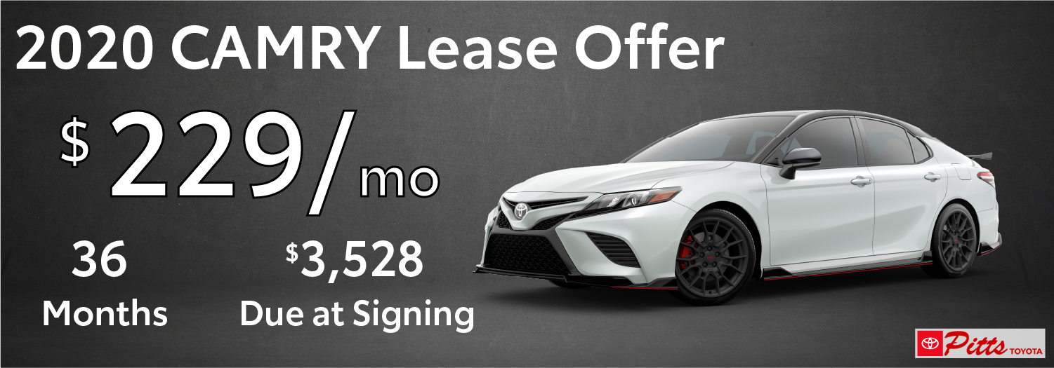 2020 Camry Lease Offer $229/Mo