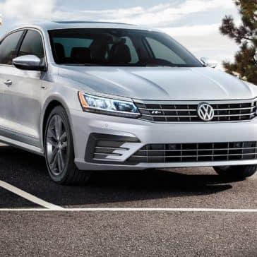 2019 Volkswagen Passat parked