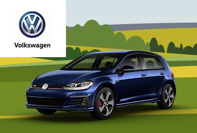 New 2019 Volkswagen Golf GTI 2.0T S FWD 4D Hatchback