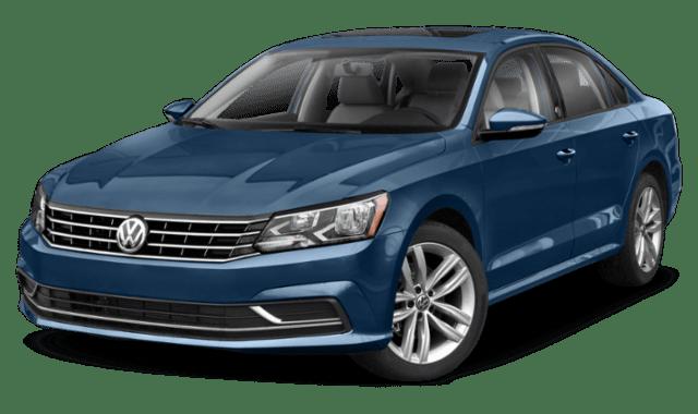 2019 VW Passat Exterior Comparison Image