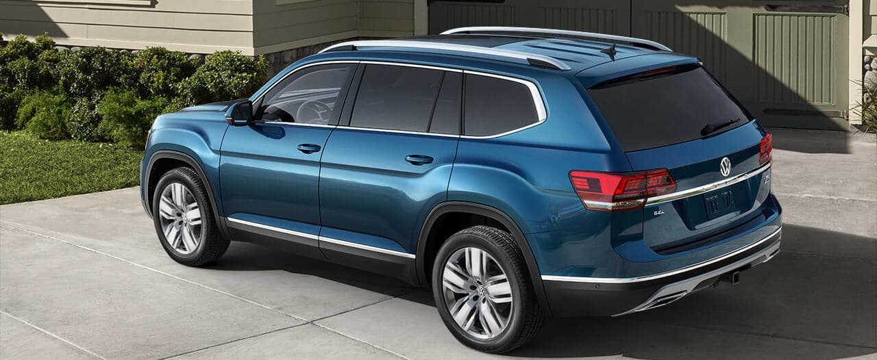 A 2019 VW Atlas SEL Premium with 4MOTION