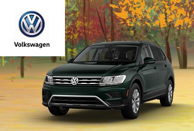 New 2019 Volkswagen Tiguan S AWD