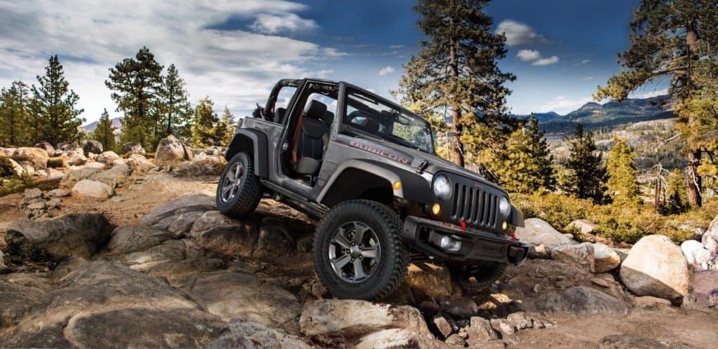Safety Features 2018 Jeep Wrangler near Denver