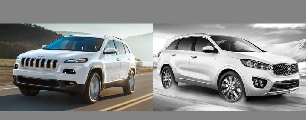 Compare 2018 Jeep Cherokee vs 2018 Kia Sorento Boulder CO
