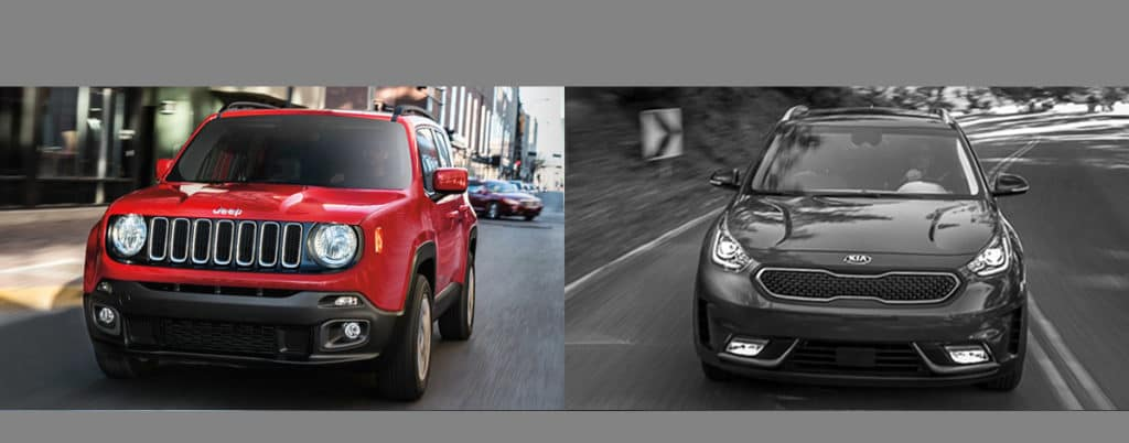 Compare Jeep Renegade vs Kia Niro Boulder CO