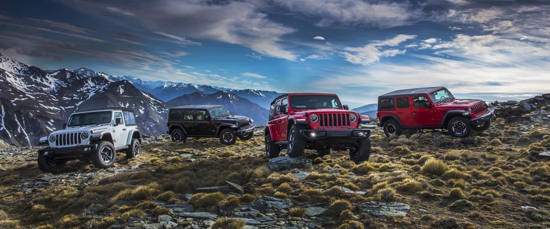 Exterior 2018 Jeep Wrangler near Longmont
