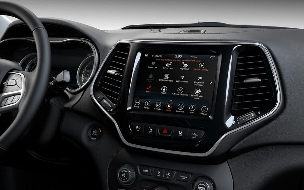 Interior 2019 Jeep Cherokee near Longmont