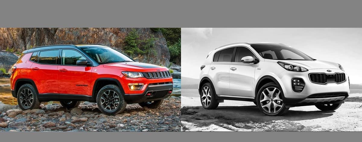 2018 Jeep Compass vs 2018 KIA Sportage in Boulder
