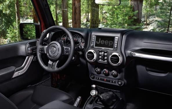 How Much Is It To Lease A Jeep Wrangler >> Interior- 2019 Jeep Wrangler Boulder CO - Pollard Jeep