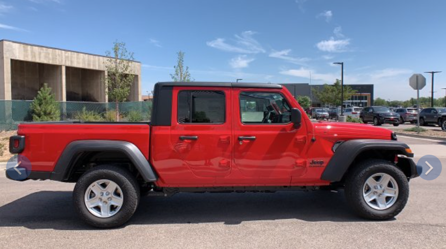 New 2020 Jeep Gladiator quotes to Thornton CO
