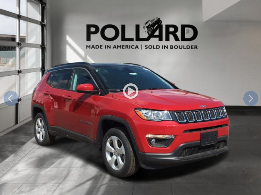2019 Jeep Compass lease specials near Golden CO