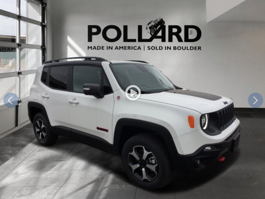 Test Drive 2019 Jeep Renegade Trailhawk near Longmont CO