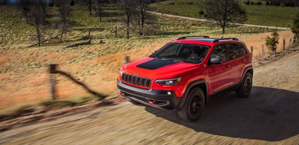 Test drive the 2020 Jeep Cherokee near Denver CO