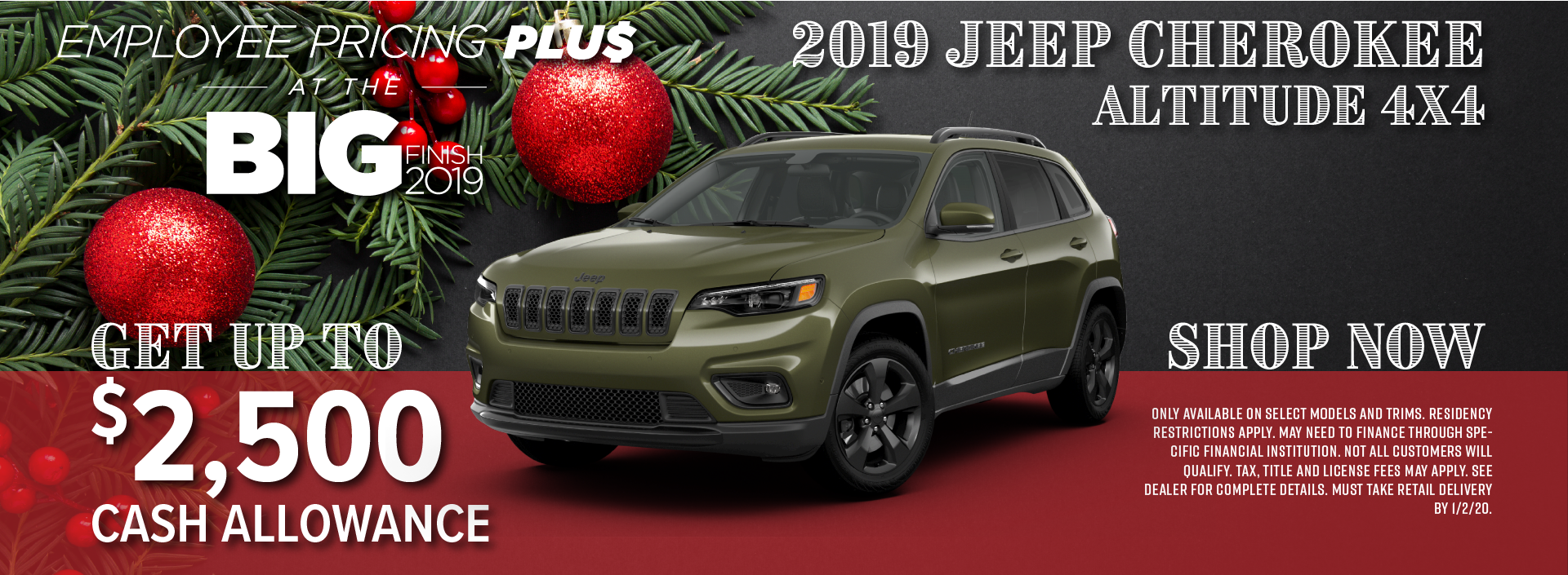Don't Miss This Jeep Cherokee Special near Longmont CO