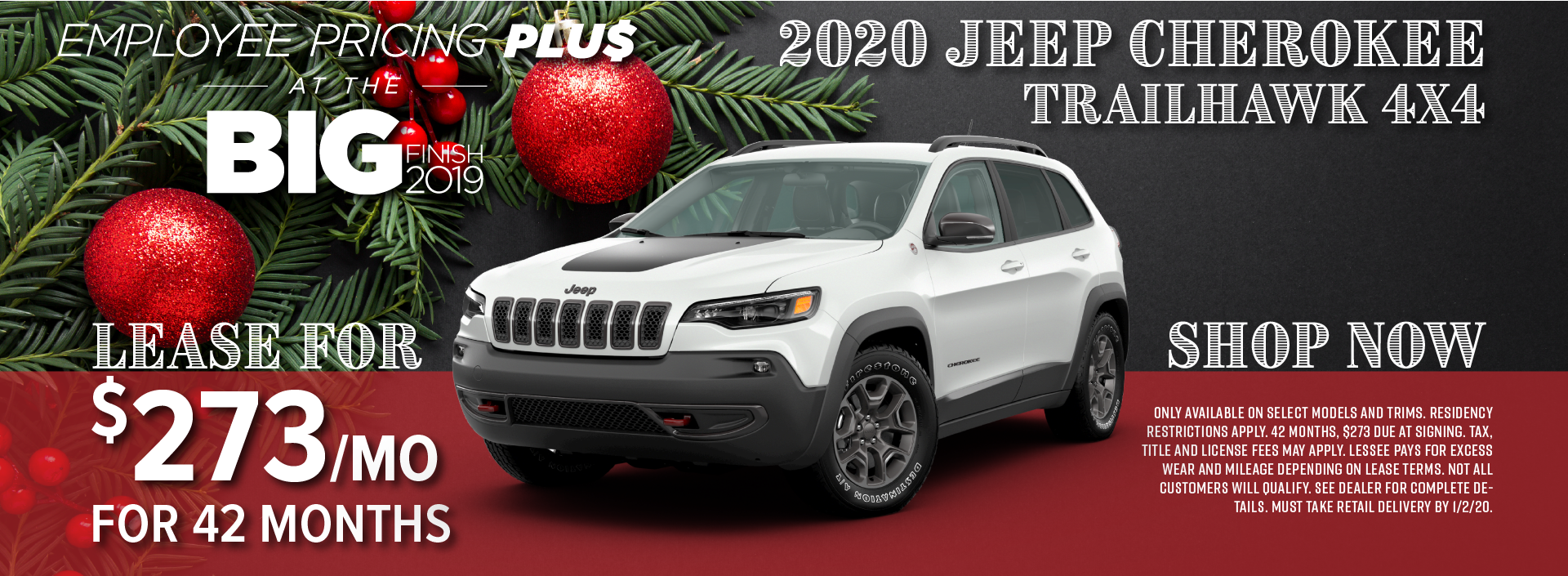 2020 Jeep Cherokee Special near Golden CO