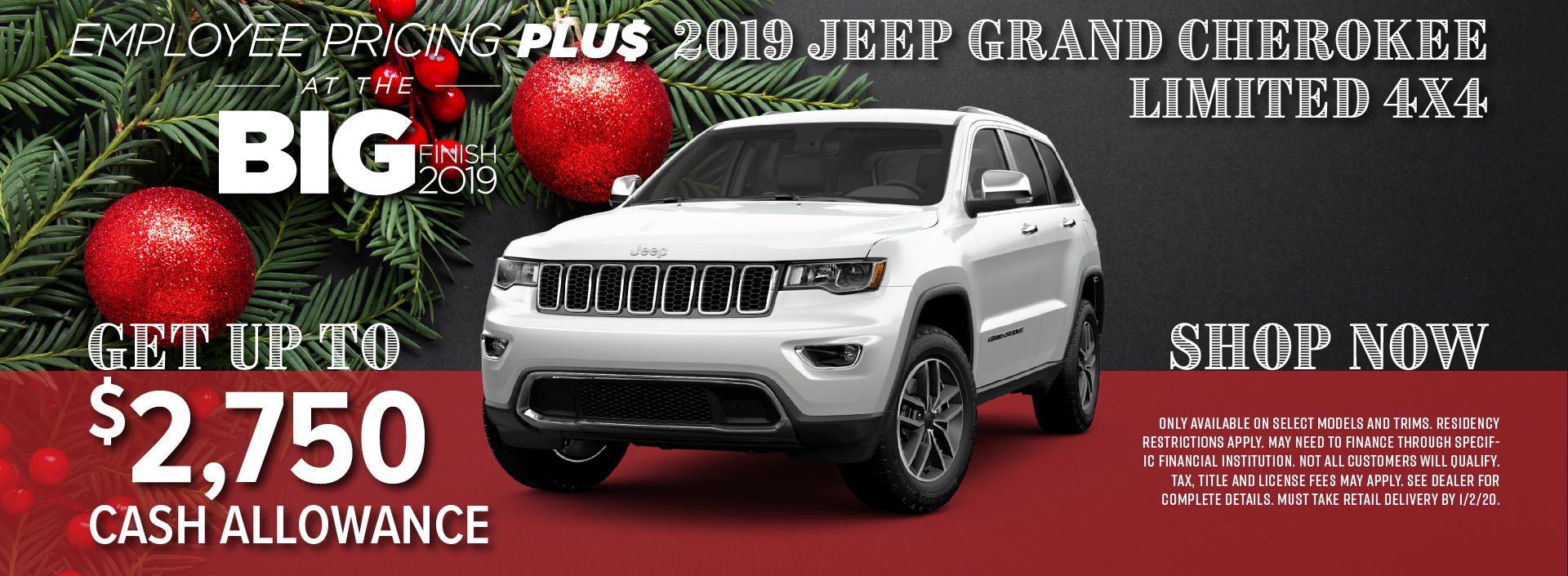 2019 Jeep Grand Cherokee Special near Thornton CO