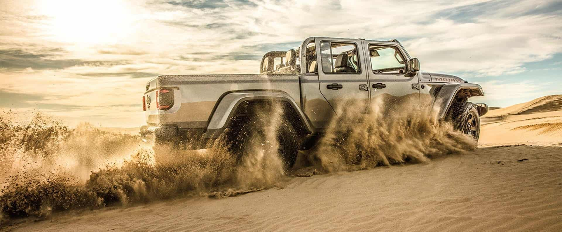 Come test drive the 2020 Jeep Gladiator Mojave near Denver
