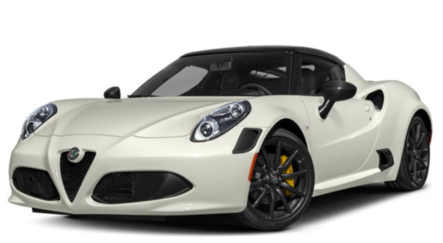 2018 Alfo Romeo 4c Coupe White