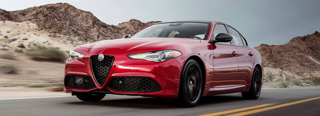 2018 Alfa Romeo Giulia Driving