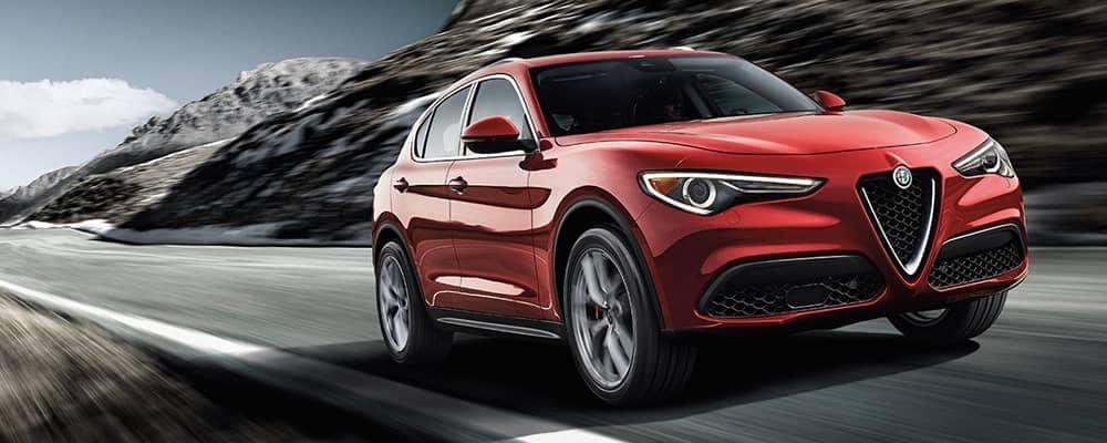 2018 Alfa Romeo Stelvio Driving