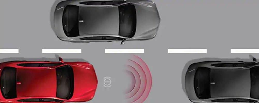 giulia driver assist display