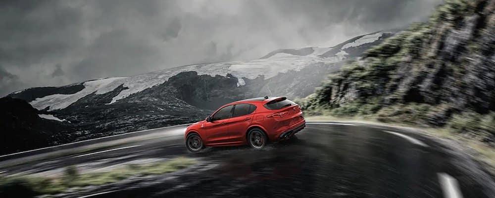 2019 stelvio driving in rain