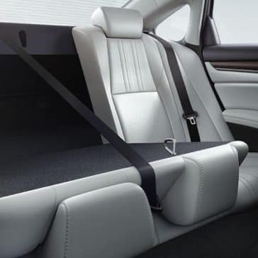 2018 Accord rear seats