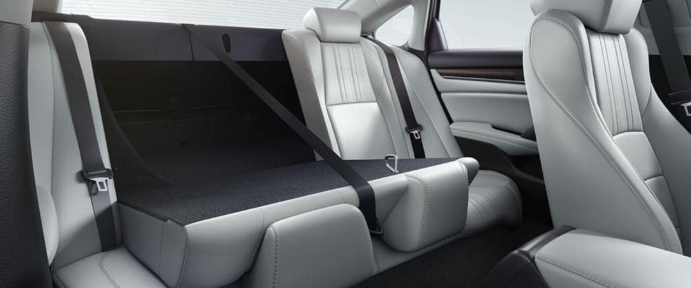 2018 Accord rear seats