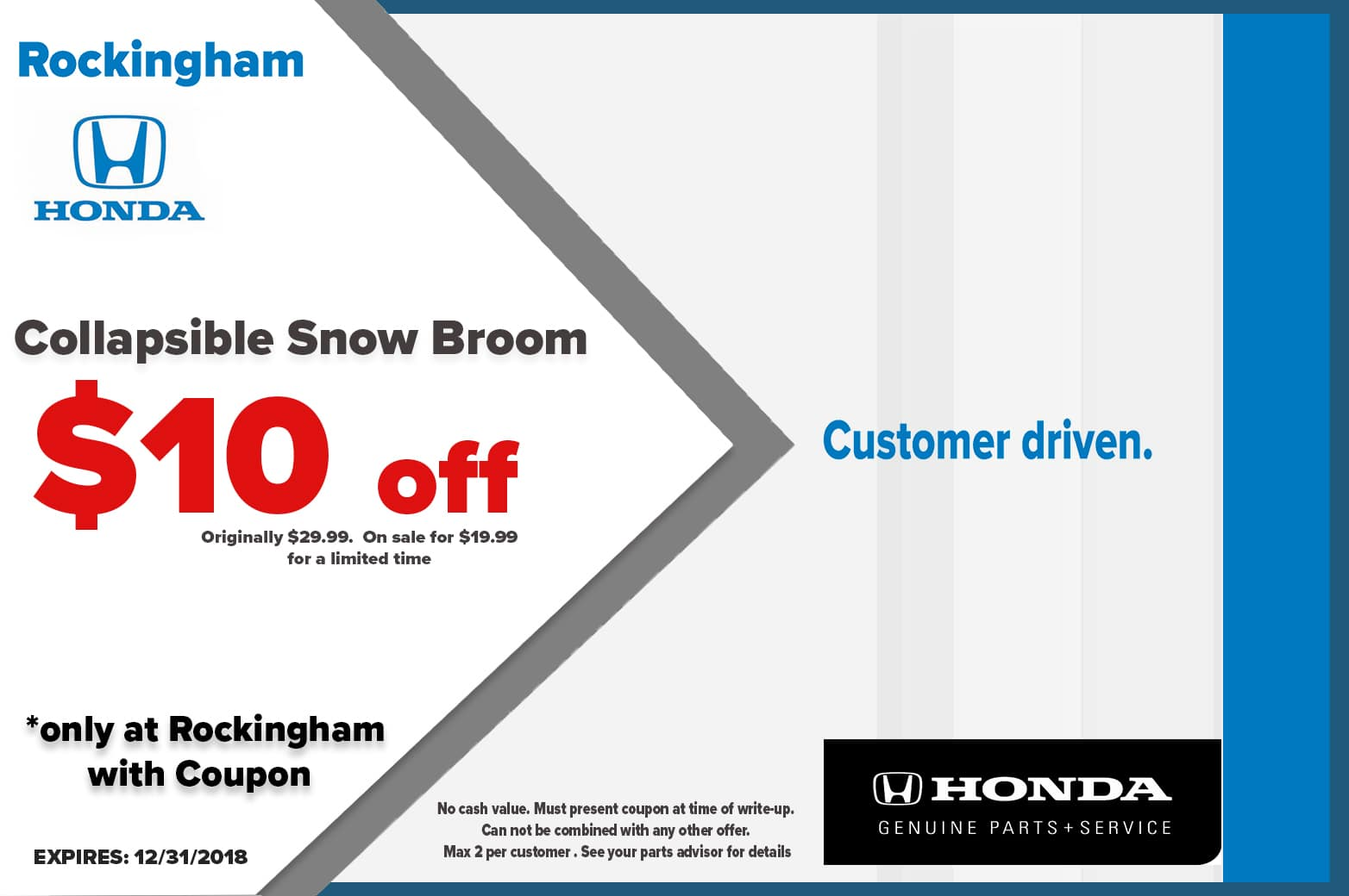 SNOW BROOM SALE
